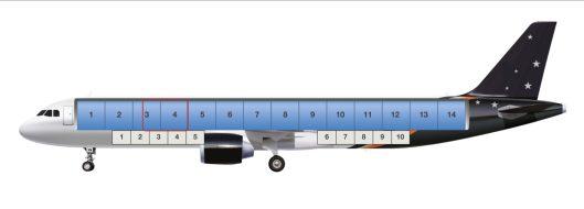 Airbus A321P2F sivulta