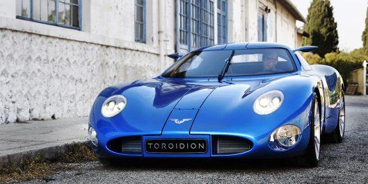 Toroidion-sähköauto