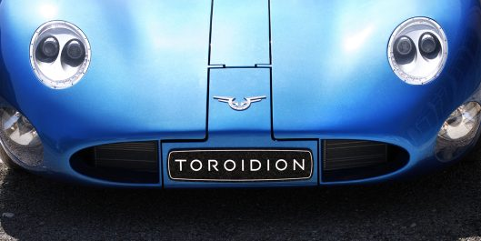 Toroidion-sähköauto, teho 1000 kW
