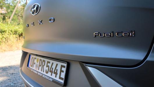 Vetyauto Hyundai Nexo käyttää polttokennoa