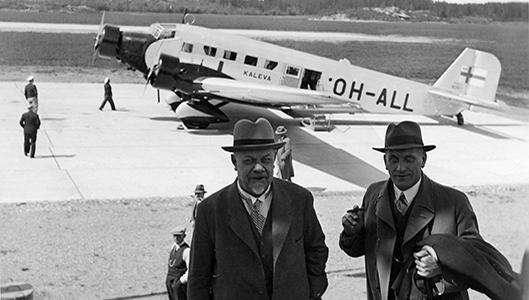 Aero Oy:n Ju-52, matkustajakone Kaleva