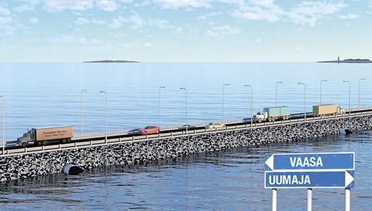 Kvarkentie välillä Vaasa-Uumaja