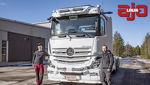 Kuljetus- ja maanrakennusliike Toivola, Mercedes-Benz Actros, Valtteri Toivola, Ilpo Eskola