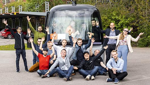 Sensible 4:n robottibussityöryhmälle Suomalainen insinööripalkinto 2020
