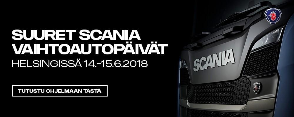 Scania vaihtoautopäivät