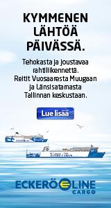 Eckerö Line – 10 lähtöä päivässä