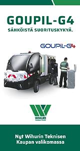 Goupil G4 – nyt Wihurin Teknisestä Kaupasta