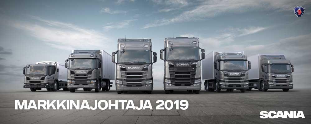Scania-Markkinajohtaja