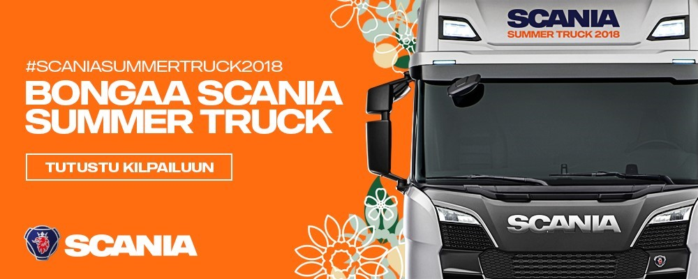 Scania summer trucks