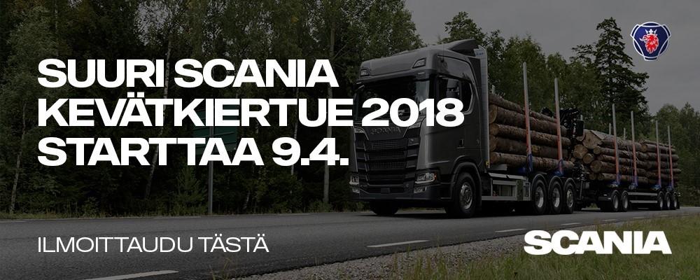 Scania kevätkiertue 2108