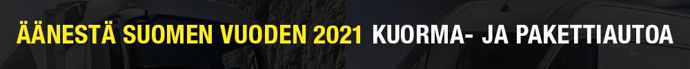 Vuoden Kuorma- ja Pakettiauto 2021