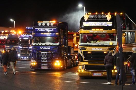Rekkanäyttely, rekkatapahtuma, Iso-Syöte Truck Weekend