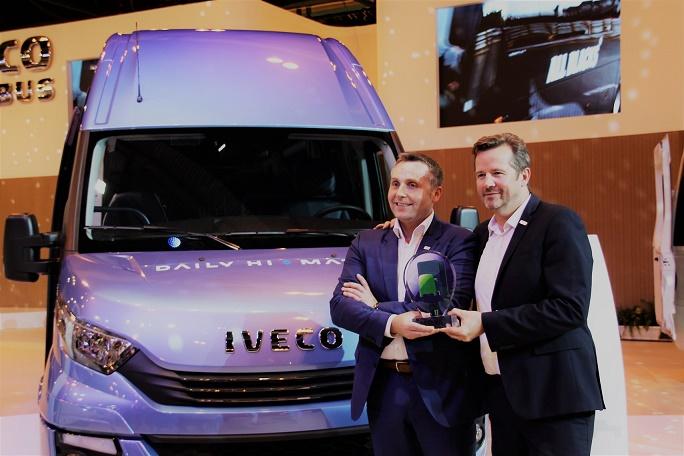 Minibussi Iveco Daily Tourys 3,5 - 8 tonnin kokonaismassalla