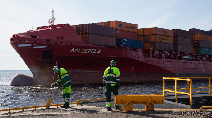Rauman Satama kuuluu EcoPorts-satamiin