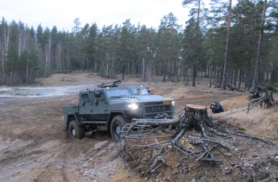 Sisu GTP 4x4 on modulaarinen panssaroitu ajoneuvomallisto