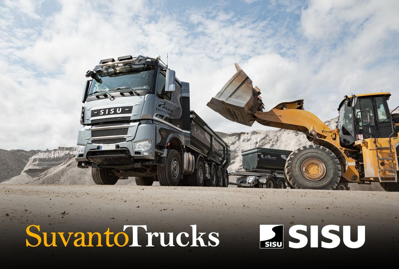 Suvanto Trucks ja Sisu yhteistyössä