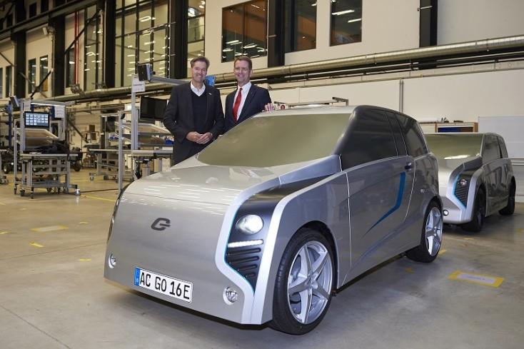 E.GO Life -sähköauton valmistaa E.GO Mobile AG