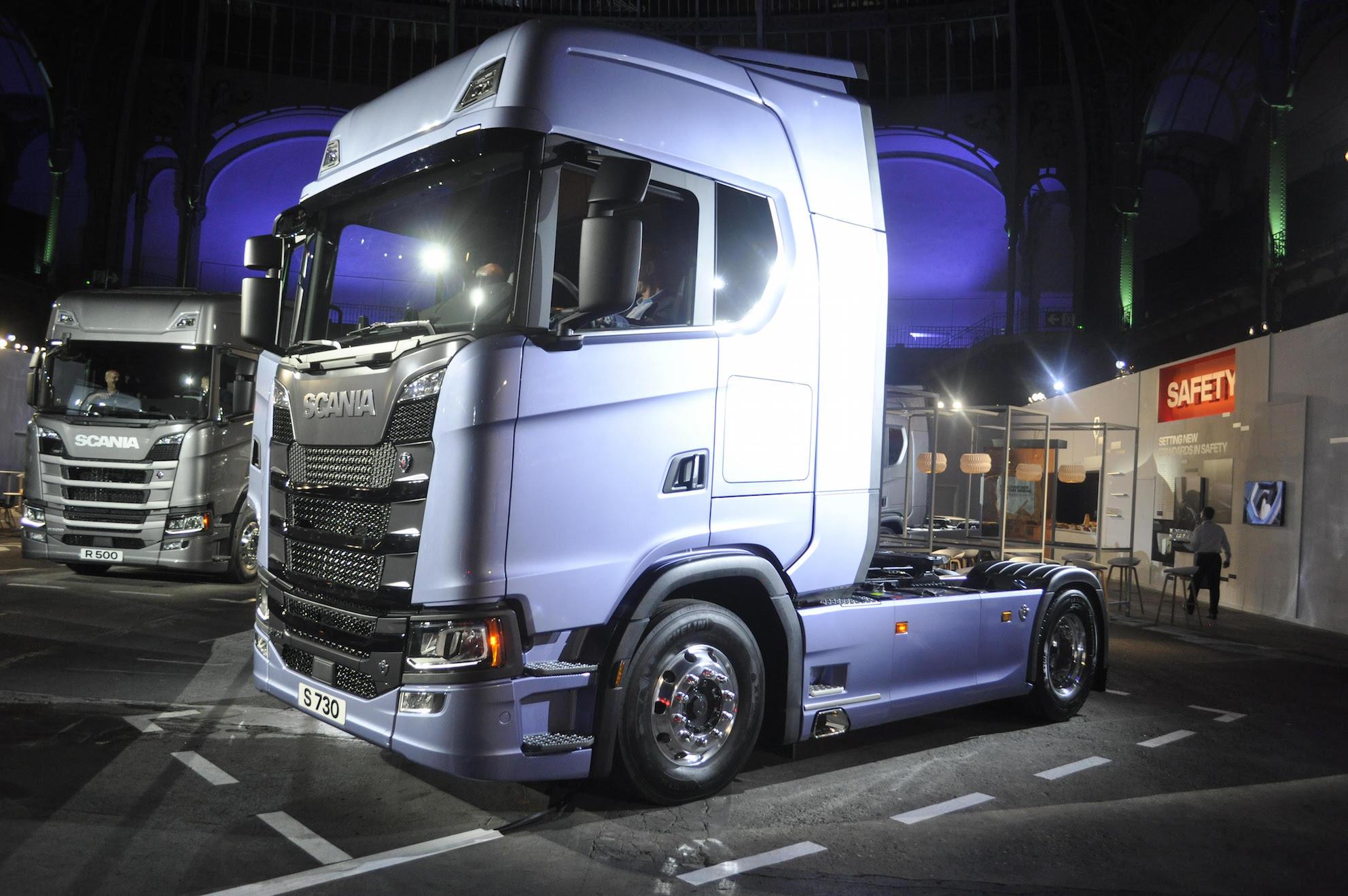 Scania S-sarjan kuorma-auto